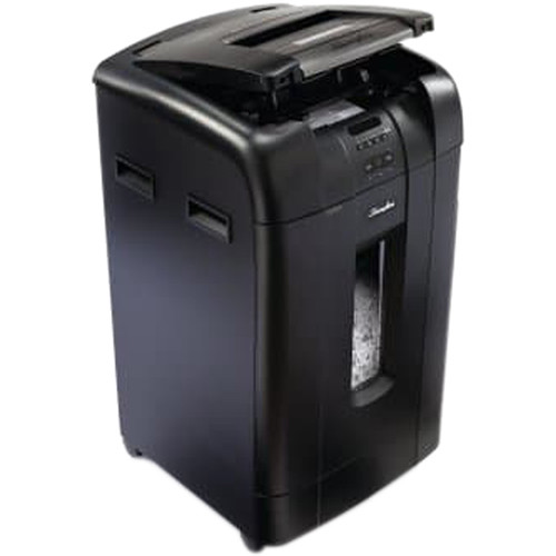 Swingline Stack-and-Shred 750X Cross-Cut Auto-Feed Shredder (750 Sheets, 20+ Users)