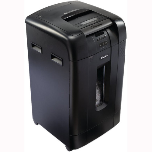 Swingline Stack-and-Shred 750M Micro-Cut Auto-Feed Shredder (750 Sheets, 20+ Users)