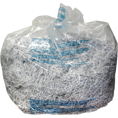 Swingline Plastic Shredder Bag for 500/750 X/M & Large Office Shredders (30 gal, Box of 25)