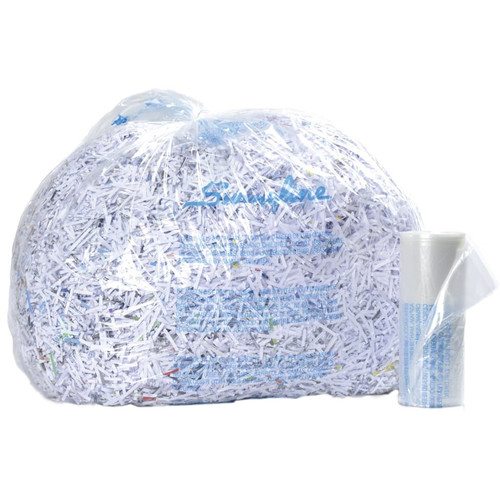 Swingline Plastic Shredder Bag for Small Office, Executive, Personal & 200X Shredders (6-8 gal, Box of 100)