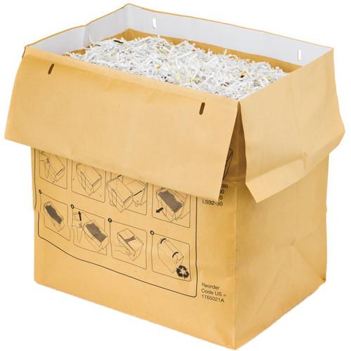 Swingline Recyclable Paper Shredder Bag for Large Office Shredders (30 gal, Case of 50)