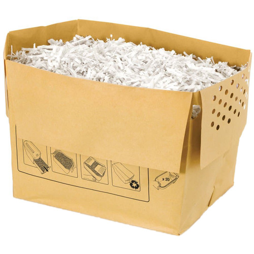 Swingline Recyclable Paper Shredder Bag for Executive Shredders (6 gal, 20-Pack)