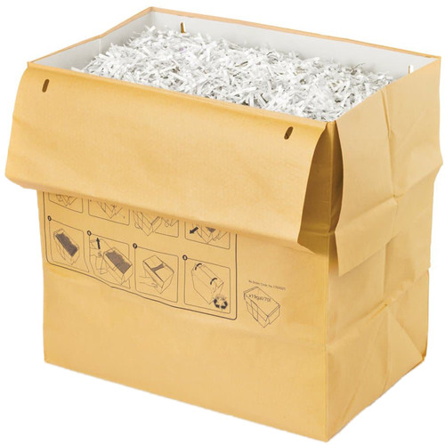 Swingline Recyclable Paper Shredder Bag for Departmental Shredders (19 gal, 5-Pack)