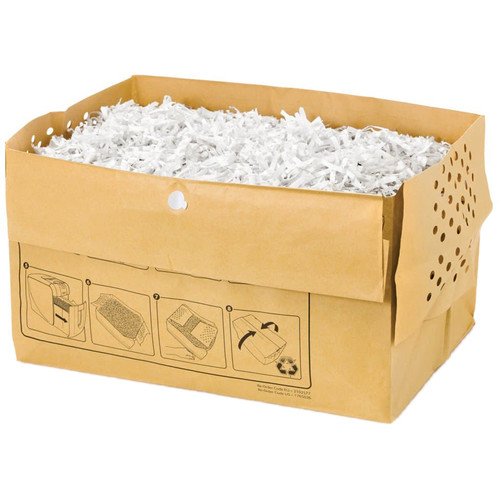 Swingline Recyclable Paper Shredder Bag for Stack-and-Shred 100X & 100M Auto-Feed Shredders (7 gal, 5-Pack)