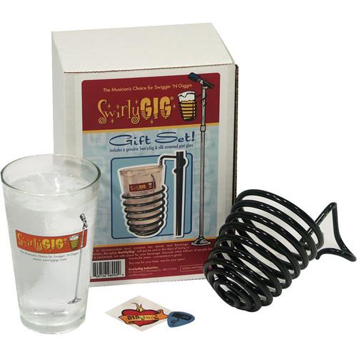SwirlyGig SwirlyGig Drink Holder Gift Set (Black)