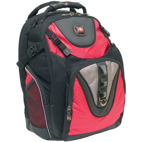 """SwissGear Maxxum 16"""" Computer Backpack (Red)"""