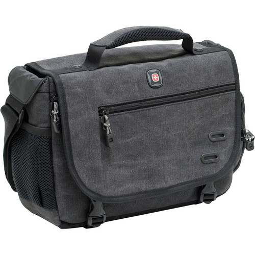 SwissGear Zinc DSLR Camera Messenger Bag for DSLR Cameras