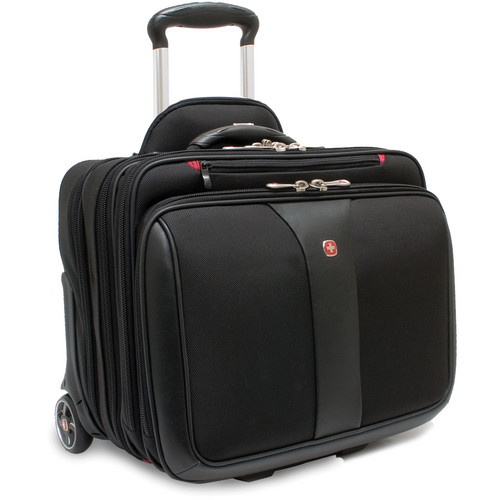 "SwissGear Patriot Wheeled 2-Piece 17"" Laptop Case"