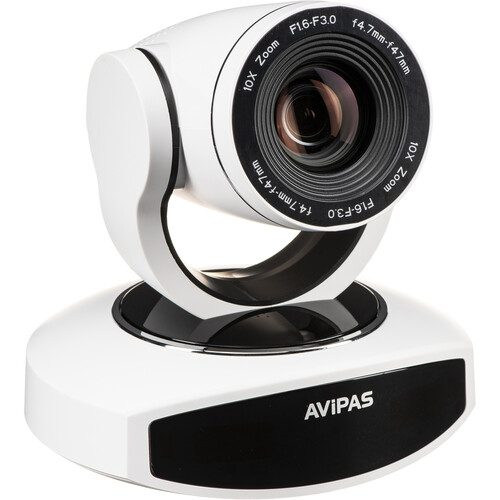AViPAS AV-1082W Full HD USB 3.0 PTZ Camera (White)