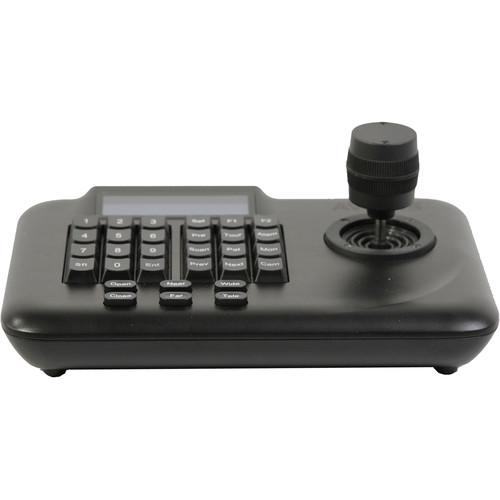 AViPAS AV-3102 3D Keyboard PTZ Camera Controller (RS485/422 Only, No IP)