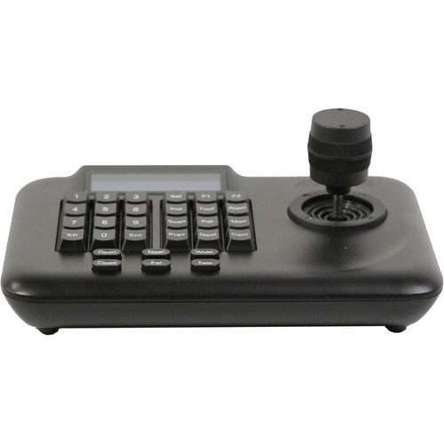 SWIT AV-3102 3D Joystick Keyboard Controller with LCD for 64 PTZ Cameras