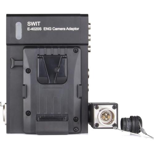 SWIT Optical Fiber Camera Adapter (V-Mount)