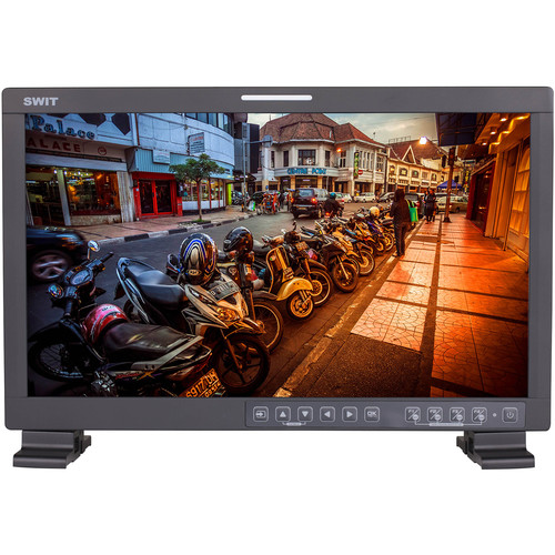 """SWIT 17.3"""" LCD Full HD Film Production Monitor with LED Backlight"""