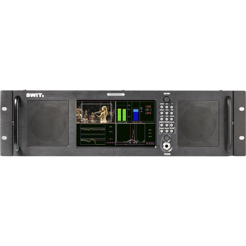 "SWIT M-1072A 7"" HD-SDI/HDMI Audio Loudness LCD Monitor (3 RU)"