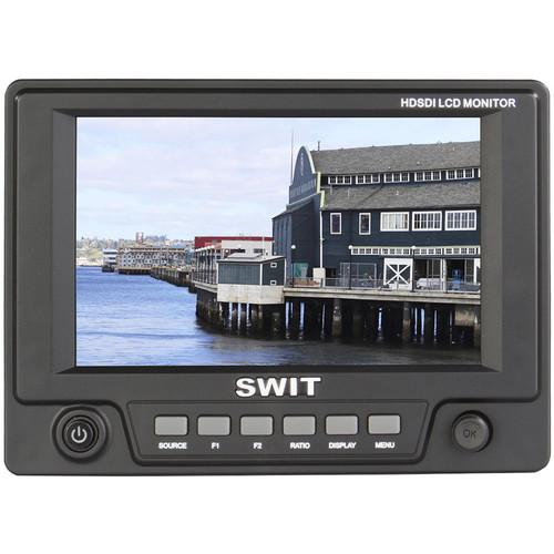 "SWIT S-1051H 5"" HDSDI/HDMI LCD Monitor (Panasonic VW-VBG6)"