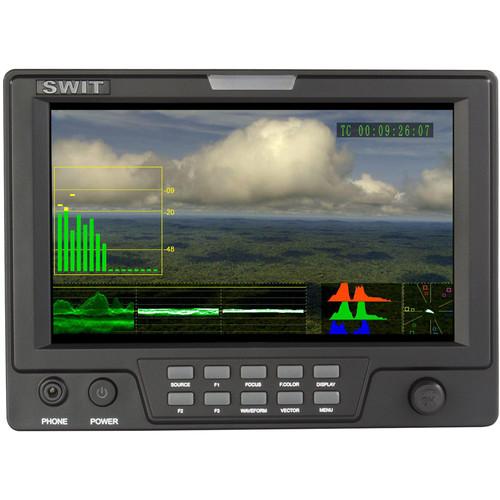 "SWIT S-1071FB 7"" HD-SDI & HDMI LCD Monitor (Panasonic VW-VBG6)"