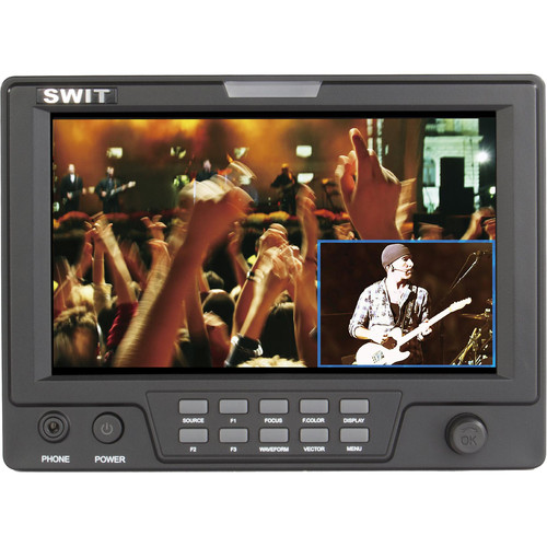"SWIT S-1071H(EFP) 7"" EFP Field LCD Monitor with Picture-in-Picture Function and Single 3G/HD Video Input"