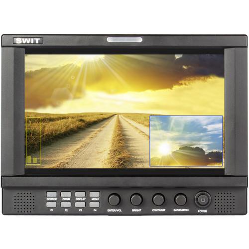 "SWIT S-1092H 9"" LCD 3G-SDI/HDMI Field Monitor (Panasonic CGA-D54/D28)"