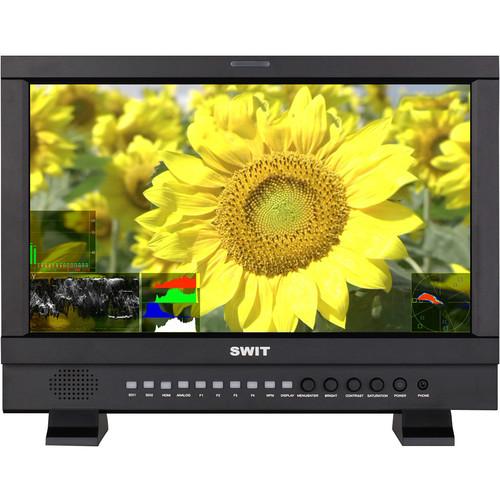 "SWIT S-1173F Waveform Studio LCD Monitor (17.3"", Gold Mount)"