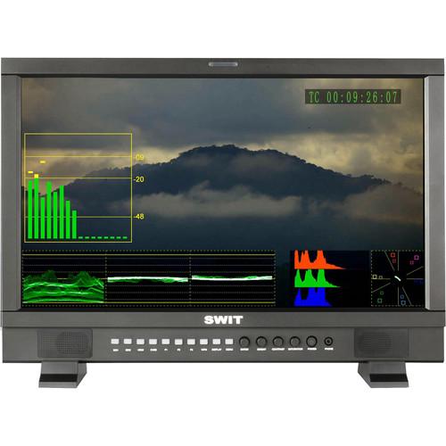 "SWIT S-1222FA 21.5"" LCD HD-SDI/HDMI Studio Monitor (Gold Mount-Type)"