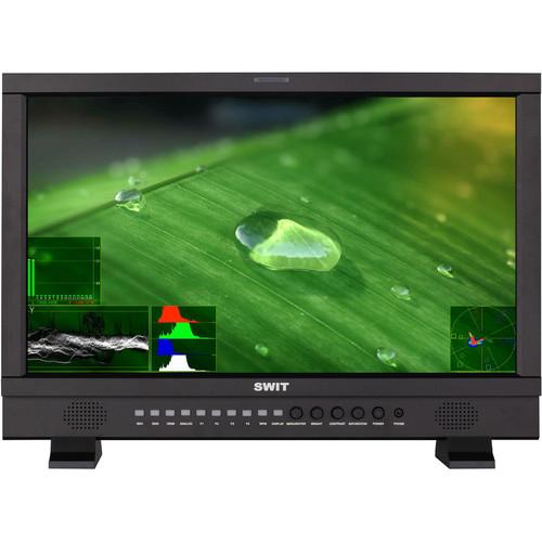 "SWIT 21.5"" Full HD Waveform Studio LCD Monitor (Gold-Mount)"