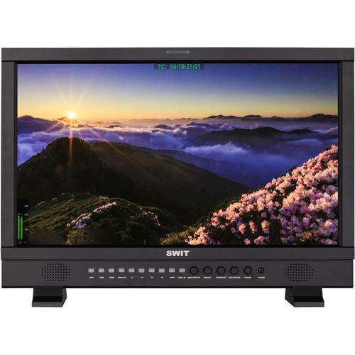"SWIT 21.5"" Full HD 3G-SDI & HDMI Studio LCD Monitor (Gold Mount)"