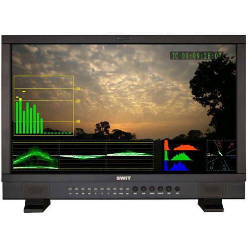 SWIT 23.8 FHD SDI and HDMI Waveform Studio Monitor