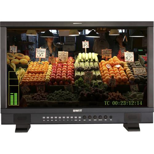 SWIT 23.8 3G SDI and HDMI Waveform Studio Monitor