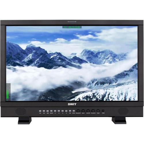 "SWIT 23.8"" Full HD 3G-SDI & HDMI Studio LCD Monitor (Gold Mount)"