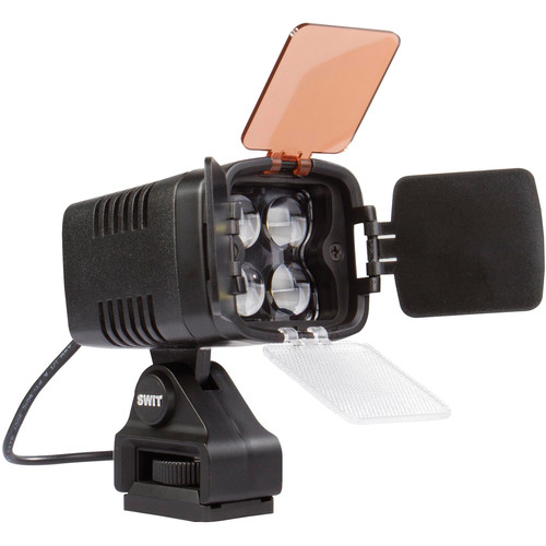 SWIT S-2000 On-Camera LED Light with D-Tap Power Connector