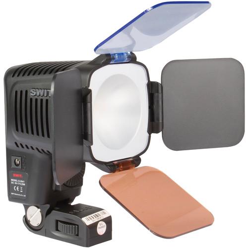 SWIT S-2041B Chip-Array LED On-Camera Light with Panasonic VW-VBG6 Battery Plate