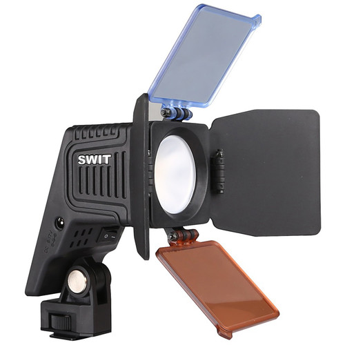 SWIT S-2070 Chip Array LED On-Camera Light with 8 Interchangeable DV Battery Plates