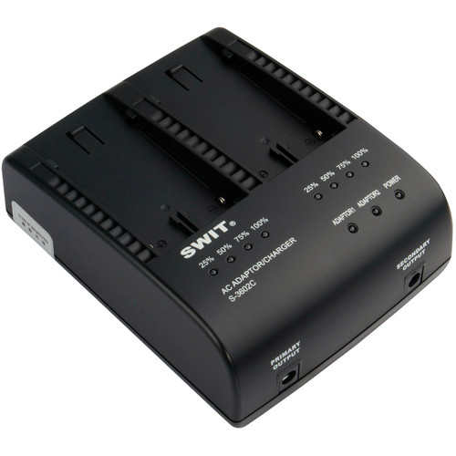 SWIT S-3602C Dual Charger/Adapter for Canon BP-945/970G Batteries