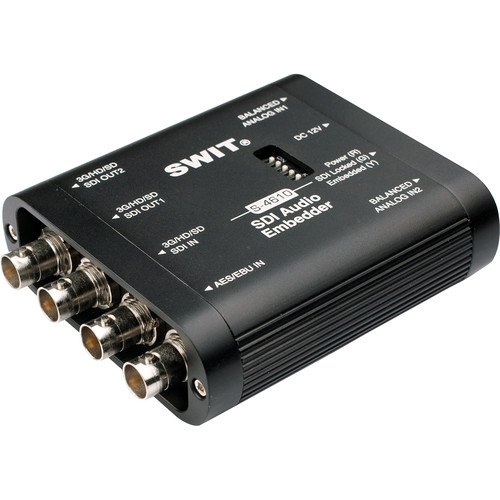 SWIT Portable SDI Audio Embedder