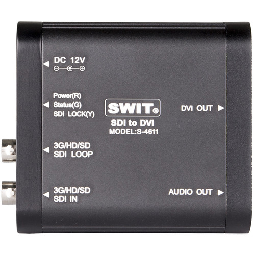 SWIT S-4611 SDI to DVI Video Converter