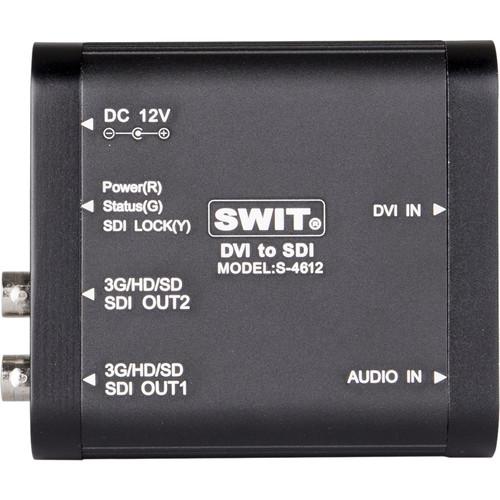 SWIT S-4612 DVI to SDI Converter