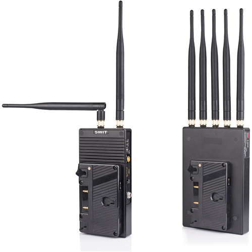 SWIT S-4904A 2000' Wireless Transmitter/Receiver Set (Gold Mount)