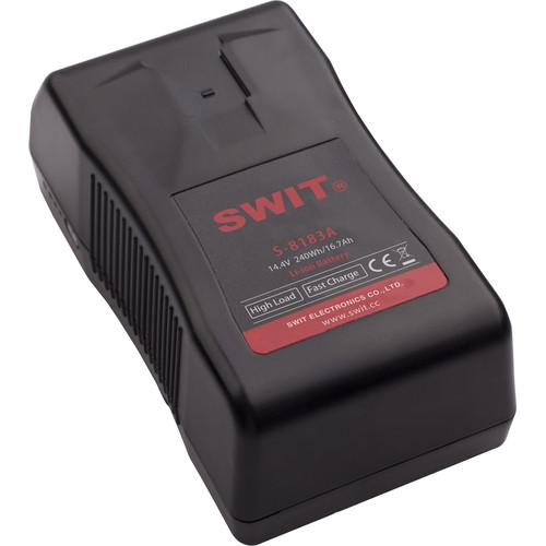 SWIT High Load Series S-8183A Gold Mount Cine-Camera Li-ion Battery