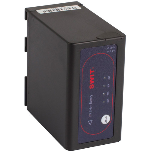 SWIT S-8845 7.2V, 47Wh Replacement Lithium-Ion DV Battery with DC Output for Canon BP-945/970G Batteries