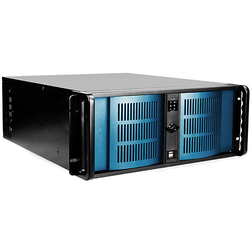 "Switchblade Systems 4U vMix HD,12 SDI IN,I7-7820X 8Core 3.6GHz,32GB Ram,250GB SSD,GTX1070 8GB,4-2.5""SSD Bays,Win 10 Pro"