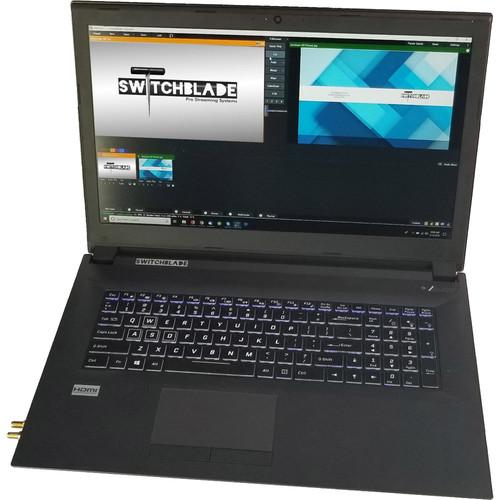 """Switchblade Systems 17"""" ArcLyte NDI SDI Laptop"""