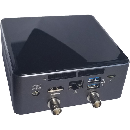Switchblade Systems Intel Nuc Based System with 2SDI In,vMix HD for Streaming, Recording, Converting to NDI.128GB SSD