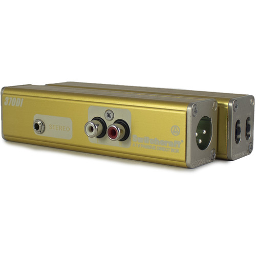 Switchcraft 370DI AudioStix Passive A/V Direct Box and Inline Audio Adapter