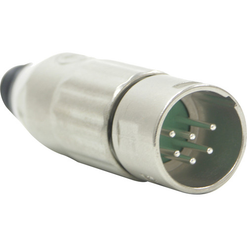 Switchcraft AAA Series 6-Pin XLR Male Cable Mount (Nickel Metal, Silver)
