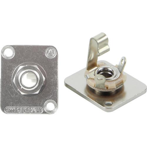 """Switchcraft E Series 1/4"""" 2 Conductor Mono (Nickel)"""