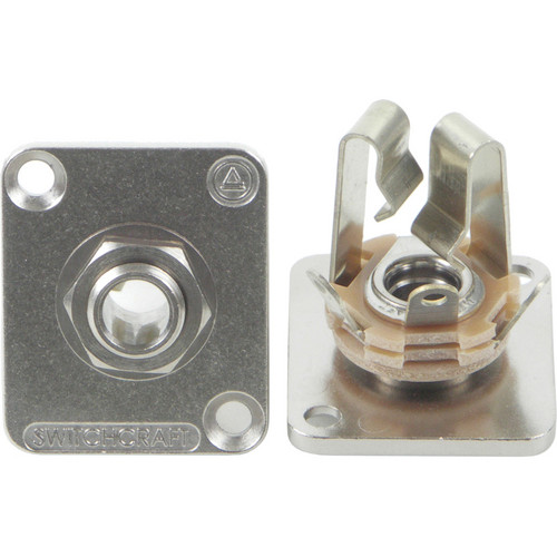 "Switchcraft E Series 1/4"" 3 Conductor Stereo (Nickel)"