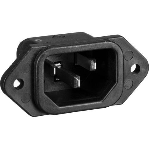 Switchcraft EAC309X 3-Pin IEC Panel-Mount Connector (Male)