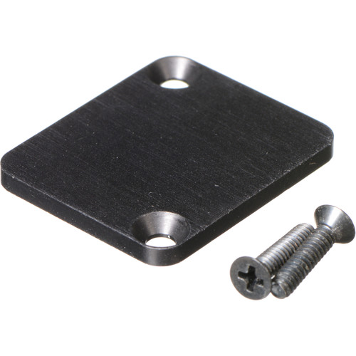 Switchcraft EH Series Mounting Hole Cover (1-Space, Black)