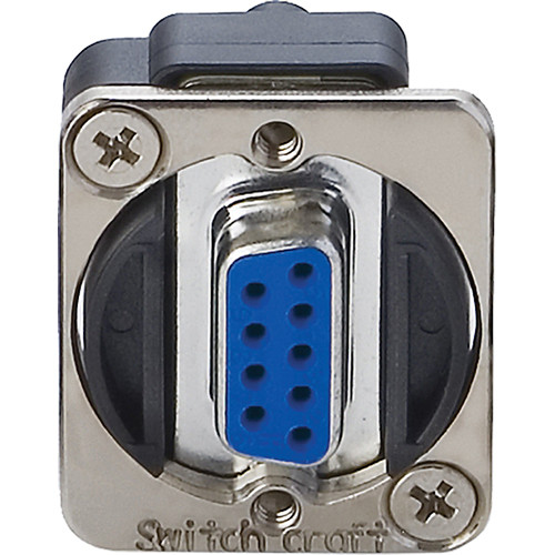Switchcraft EH Series 9-Pin D-Sub Female to Female (Nickel)