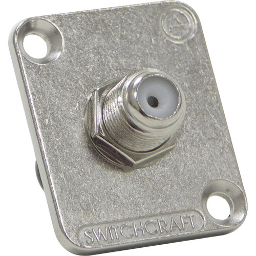 Switchcraft EH F to F Type Connector (Nickel)